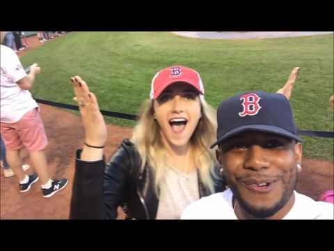 First Time in Boston | On The Field Fenway Park! | Taking Shots With Cougars | Vlog (Meamda 11)