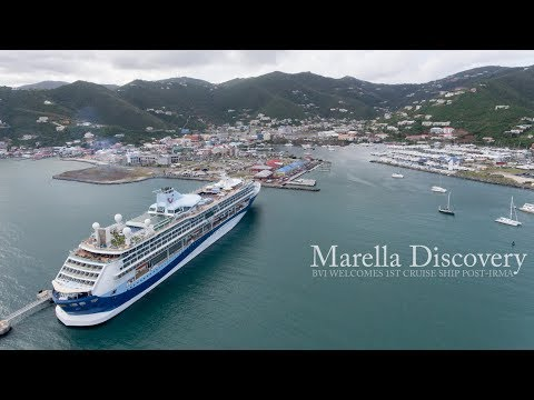 British Virgin Islands Welcome First Post-Irma Cruise Ship