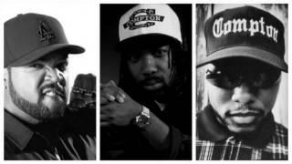 ICE CUBE, MC EIHT & MC REN - REAL NIGGAZ (OneEightSeven RMX)