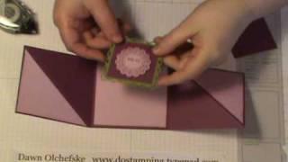 Triangle Tri-Fold Card