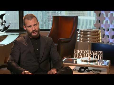 Jamie Dornan talks sex scenes - Raw Interview Fifty Shades Darker