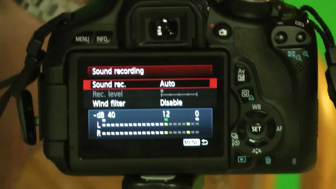 canon t3i 600d setting manual sound recording levels close up youtube rh youtube com Canon EOS Rebel T3i Manual Canon T3i Manual Mode