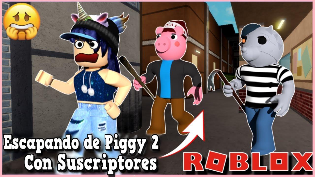 ESCAPANDO DEL MAPA 1 EN PIGGY BOOK 2 🐽🔥ROBLOX