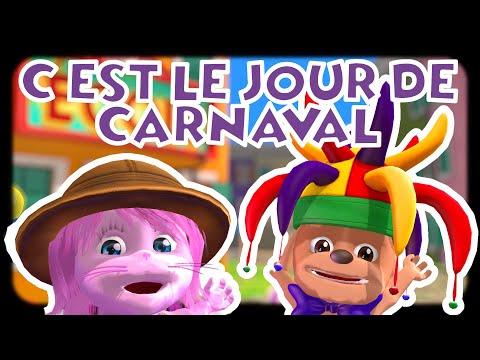 C'est le jour de Carnaval | #Comptine Carnaval