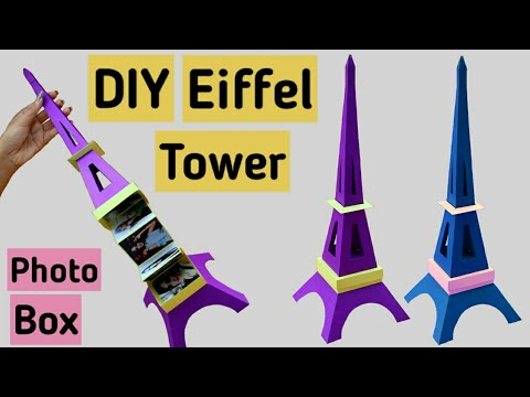 DIY Eiffel Tower Box | Step by Step Full Tutorial | Friendship Day Gift Ideas |
