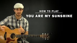 You Are My Sunshine (Jimmie Davis) | How To Play | Beginner Guitar Lesson