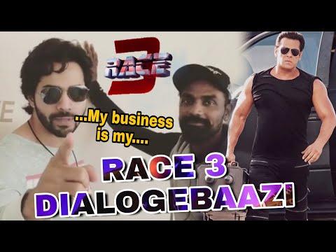 Varun dhawan Promote Race 3 in funny way   Race 3 Dialogues   Salman Khan   Remo d'souza