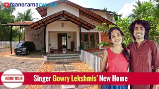 ഗായിക ഗൗരി ലക്ഷ്മിയുടെ സൂപ്പർ പാട്ടുവീട് കാണാം | Gowri Lekshmi | Home Tour