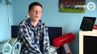 Jasper (11): dagen met pijn op bed neem ik voor lief