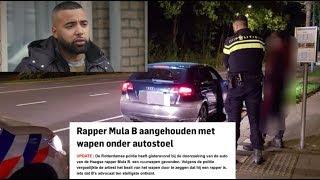 Rapper Mula B aangehouden in Rotterdam na vondst wapen in auto !