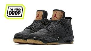 3b75ecdefd Levi's x Jordan IV 'Denim Pack' Australian Sneaker Release Info: The Weekly  Drop