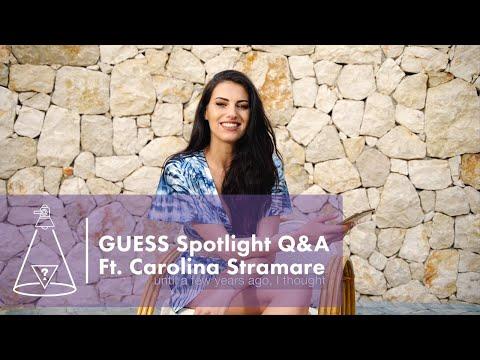 GUESS Spotlight: Fan Q&A with Carolina Stramare<br...