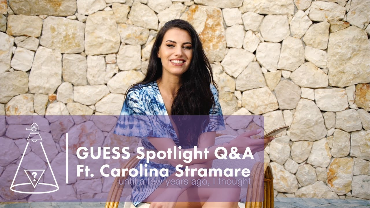 GUESS Spotlight: Fan Q&A with Carolina Stramare