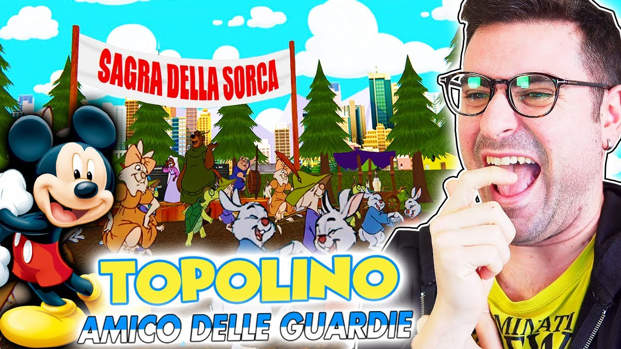 TOPOLINO AMICO DELLE GUARDIE... (Mi dissocio dal contenuto di questo video)