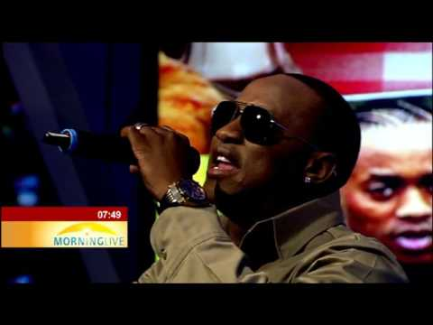 Jub Jub performs Ke Kopa Tshwarelo on Morning Live