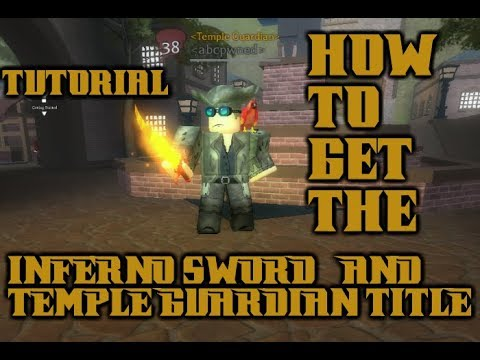 *OUTDATED* How to Get INFERNO SWORD & Title In A Pirate's Tale! TONS OF GEM LOCATIONS!