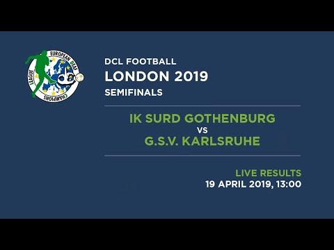 Football 2019 | Men | Semifinals | IK SURD GOTHENBURG Vs G.S.V. KARLSRUHE