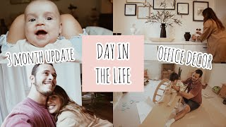 VLOG: Ari's 3 month update, office decor, and more!