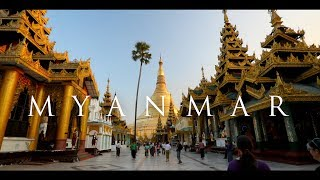 The Land of Gold! | Yangon, Myanmar in HD