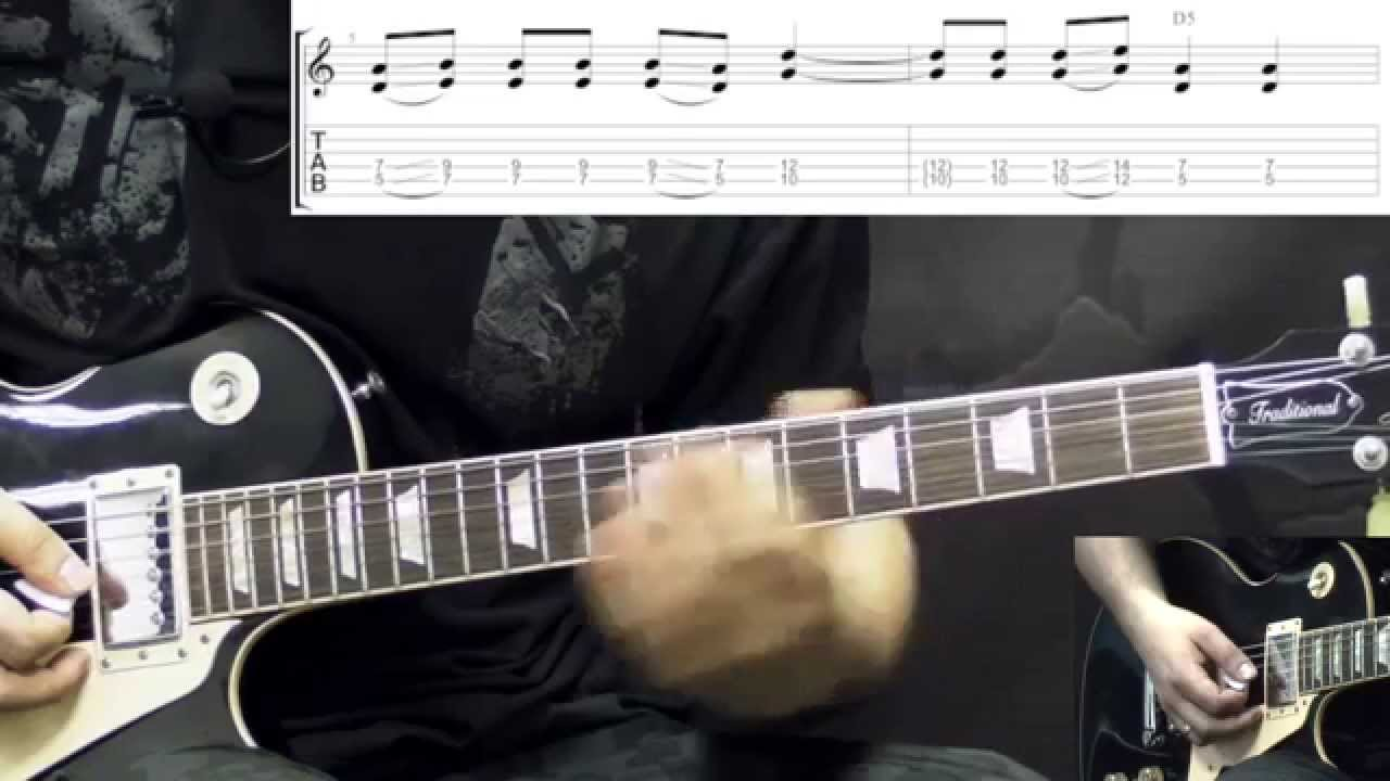 Black Label Society - Empty Promises - Metal Guitar Lesson (w/Tabs)