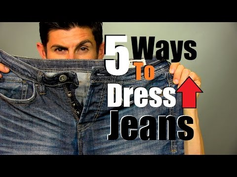 Five Ways to Dress Up Jeans | How to Dress Up Your Jeans | Men's Style Tips