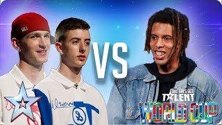 Twist & Pulse vs Tokio Myers | Britain's Got Talent World Cup 2018