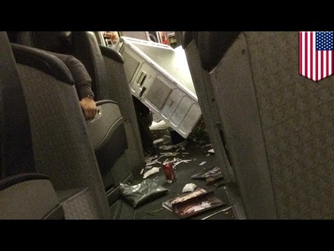 Terrifying video of hour of horror as turbulence rocks American Airlines flight from Seoul to Dallas