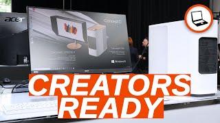 LI VOGLIO TUTTI | Acer Concept D: desktop, notebook e monitor per CREATIVI