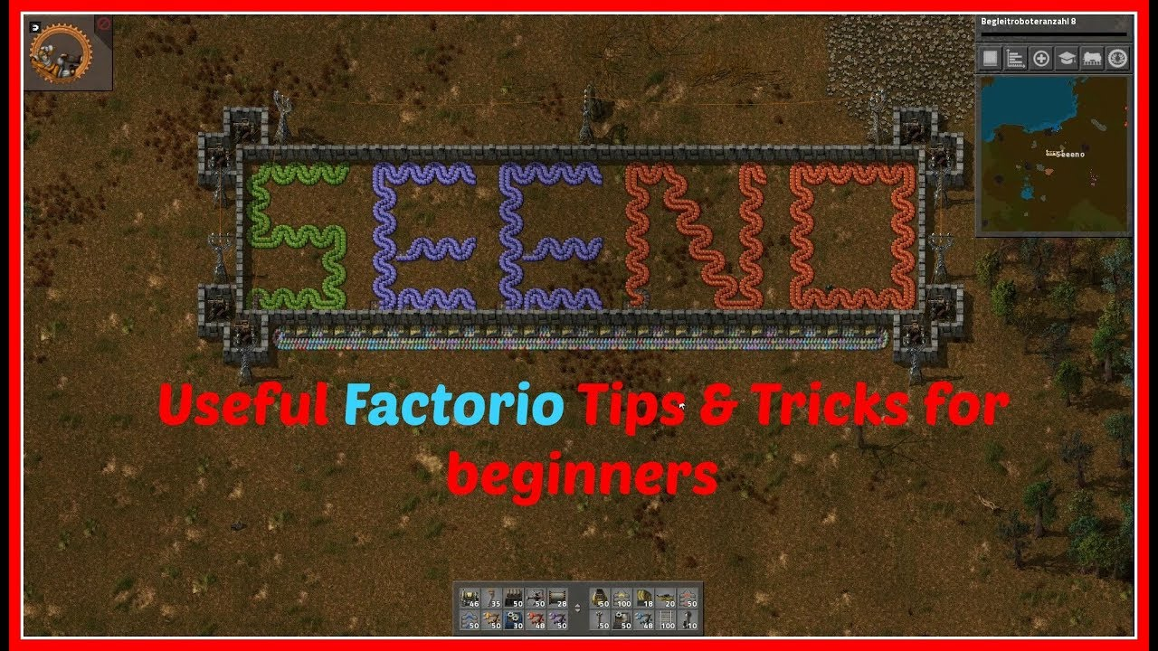 Perfect FACTORIO Tips U0026 Tricks | English | Early Game | Lets Learn Factorio | By  SeeNo