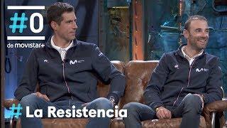 LA RESISTENCIA - Entrevista a Alejandro Valverde e Imanol Erviti   #LaResistencia 18.12.2019