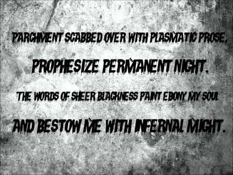 The Black Dahlia Murder - Nocturnal (Lyric Video)