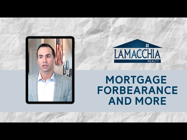 Anthony was LIVE discussing mortgage forbearance concerns and more!