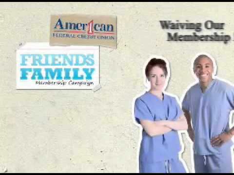 American 1 Federal Credit Union Friends And Family Plan.mov