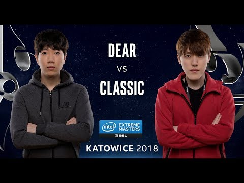 Starcraft II - Dear [P] vs. Classic [P] - Quarter Final - IEM Katowice 2018