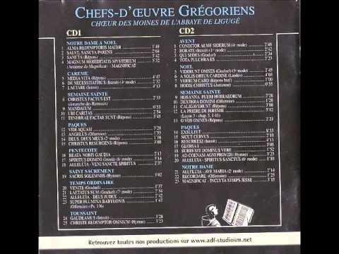 Gregorien Chefs D'oeuvre  CD1 e CD2