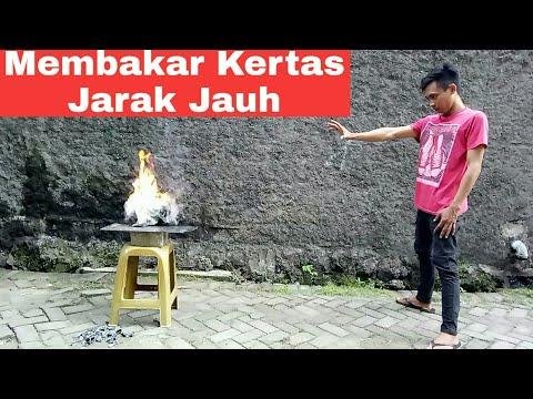 Membakar kertas jarak jauh