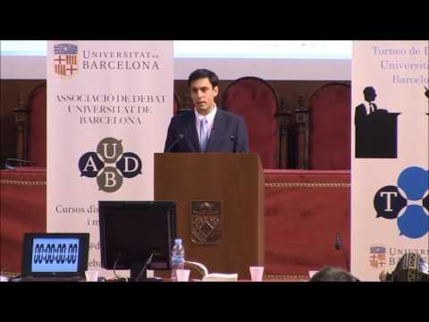 Discurs clausura Torneig de Debat Universitat de Barcelona