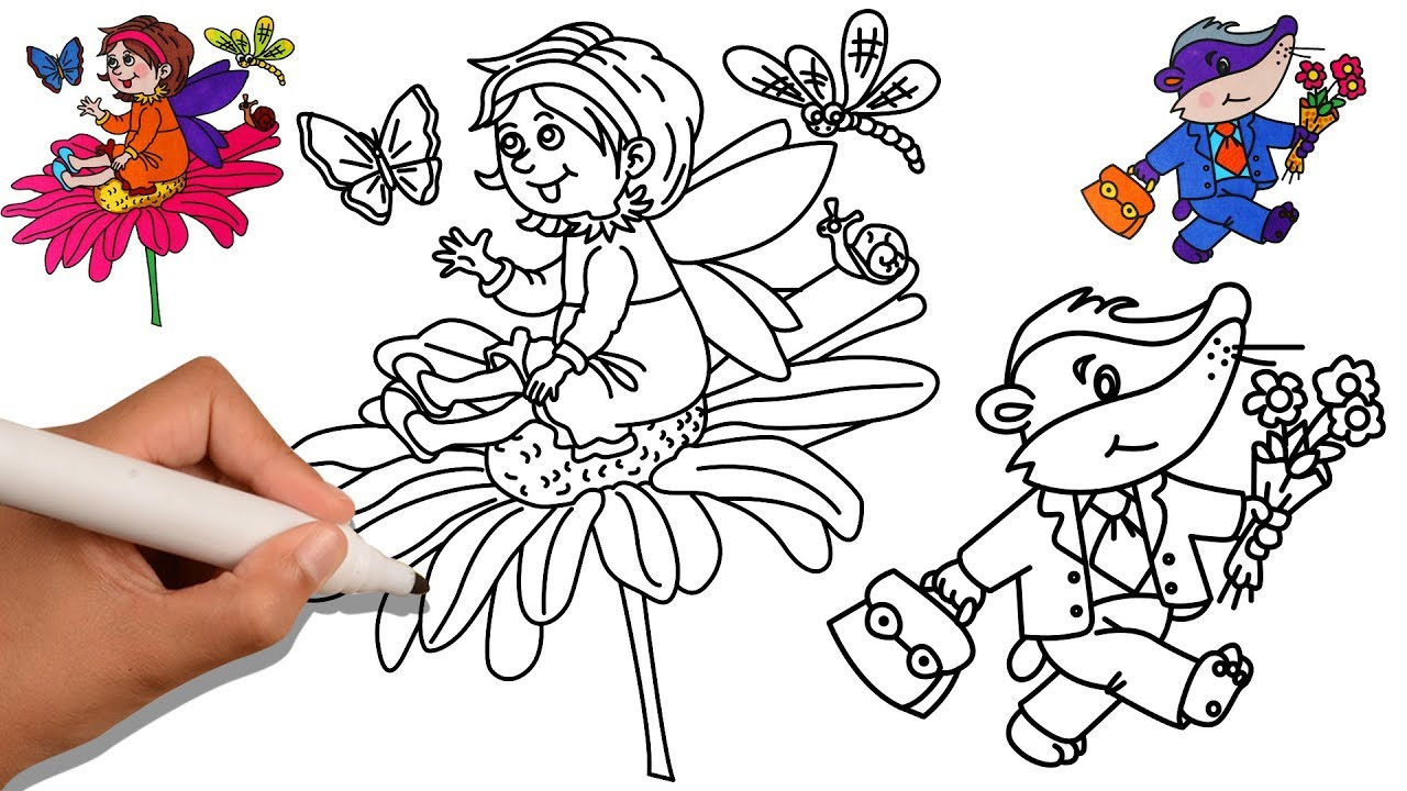 Educational Coloring Books Videos For Kids