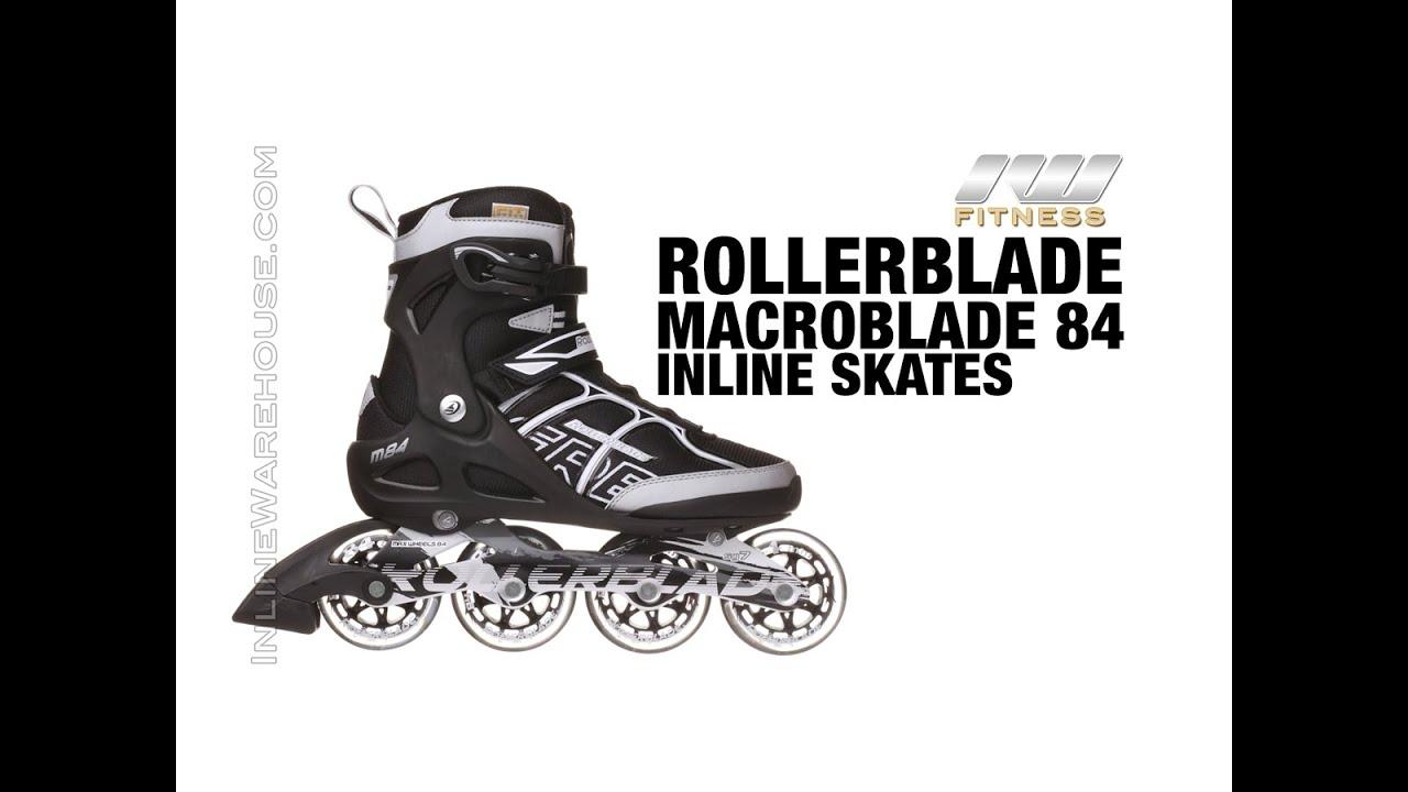 96e5c08abac 2015 Rollerblade Macroblade 84 Inline Skates for Men Review - YouTube
