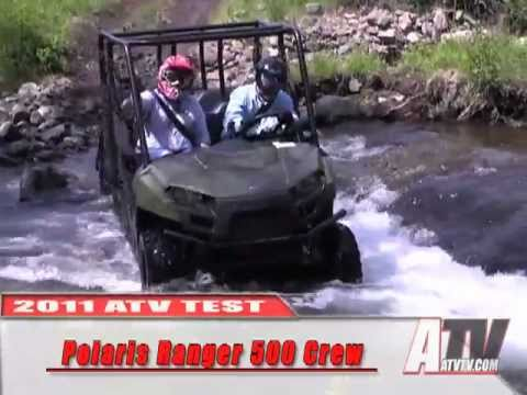 ATV Television  2011 Polaris Ranger 500 Crew Test