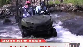ATV Television - 2011 Polaris Ranger 500 Crew Test