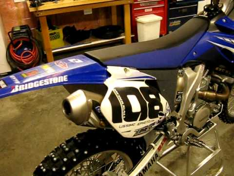 yz450f with full fmf exhaust youtube