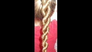 Warkocz sznur | Rope braid | Fryzury Dziewczęce ♡
