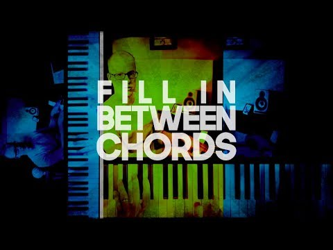 How to fill in between piano chords