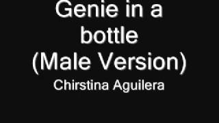 Christina Aguilera - Genie in a bottle(male version)