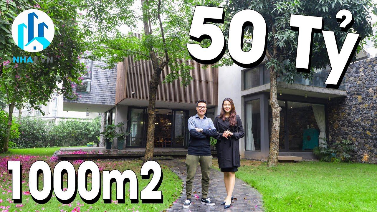 """Chiêm Ngưỡng Biệt Thự """"SIÊU TO KHỔNG LỒ"""" 1000m2 trị Giá 50 Tỷ tại Ecopark – NhaF [SALE]"""