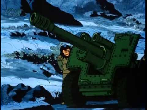 regreso al planeta de los simios serie animada ( capitulo 13 )