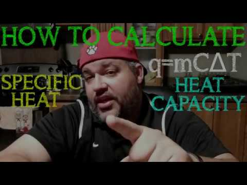 Specific Heat Capacity Problems & Calculations - Chemistry Tutorial - Calorimetry thumbnail