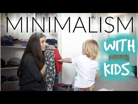 MINIMALISM WITH KIDS | HOW TO AND TIPS