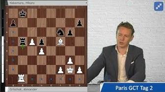 So gegen Carlsen und mehr: Die Höhepunkte der Grand Chess Tour in Paris, Tag 2